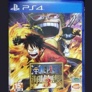 PS4海賊無雙3 中文版