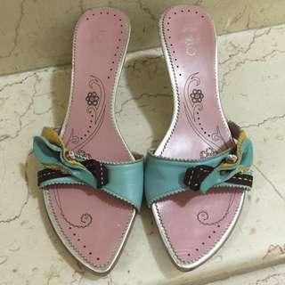 Kokko低跟涼鞋