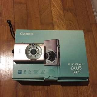 Pink Canon Digital Ixus 80 IS