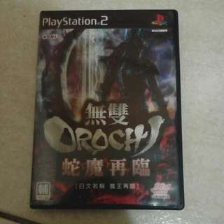 Ps2 遊戲片 無雙Orochi蛇魔再臨
