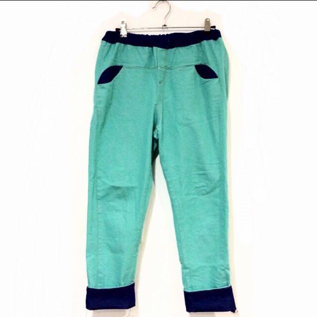 復古造型牛仔褲