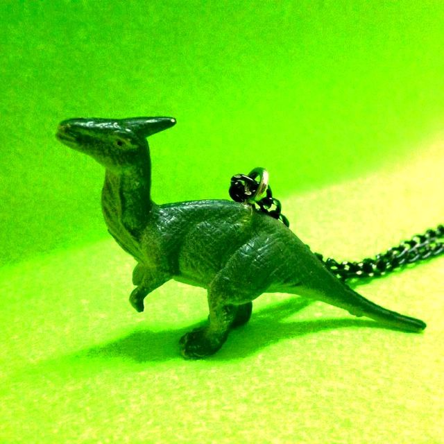 手作動物項鍊 恐龍