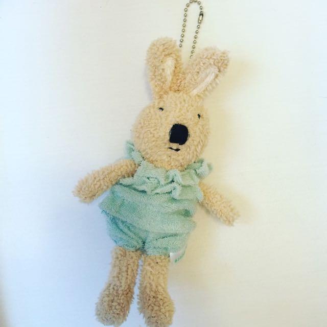 法國兔 吊飾 玩偶
