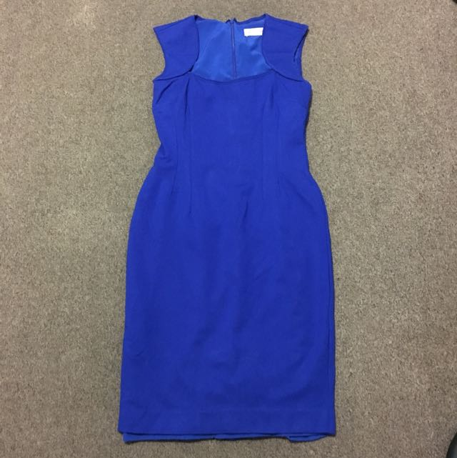 Alannah Hill Blue Dress Sz 10