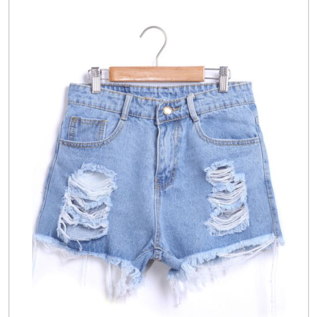 Denim Shorts Size M Brand New With Tags