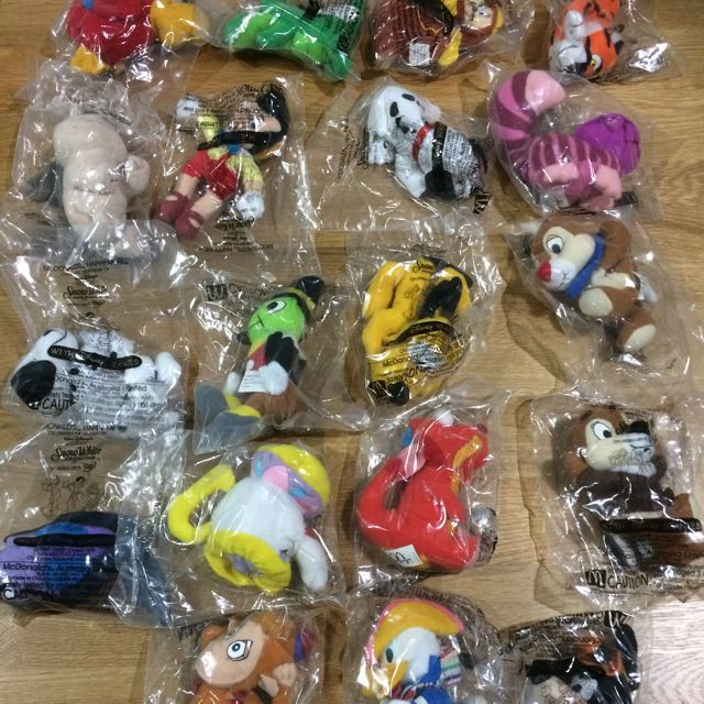 Disney Collection Happy Meal Toys