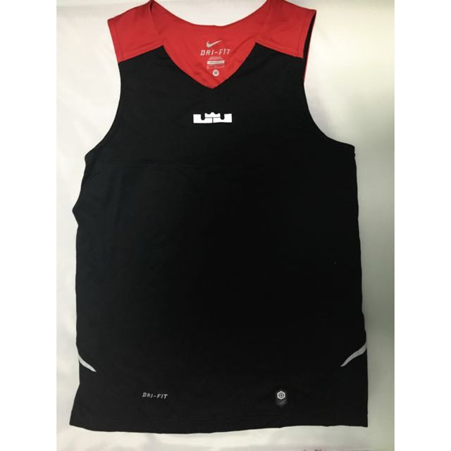 98014f4b32b48 Mens Nike Lebron Basketball DRI FIT Tank Top And Bottoms