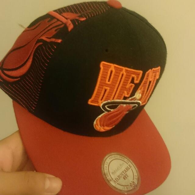 Miami Heat Snapback M&N 棒球帽