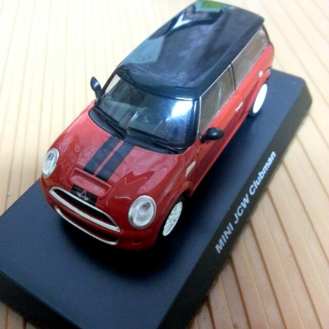 MINI組裝模型車