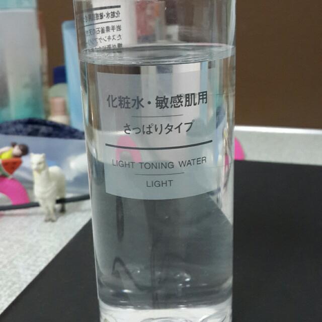 MUJI無印良品 敏感肌 化妝水