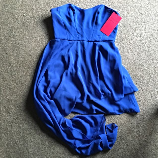 Pilgrim Blue Dress Sz 10