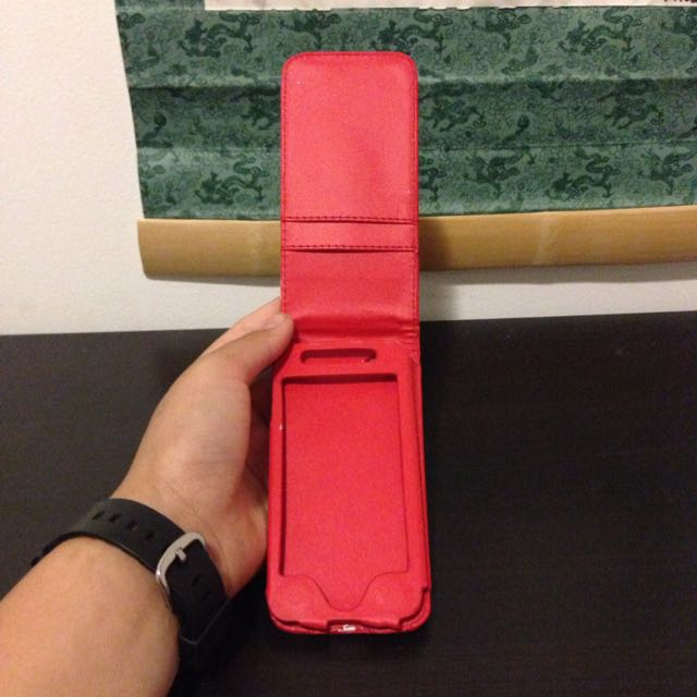 Red Wallet IPhone 5 Case