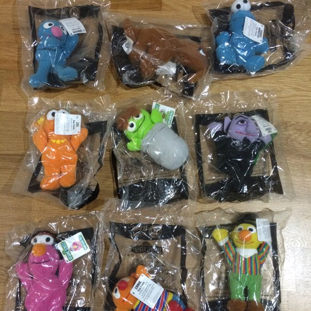 Sesame Street - Happy Meal Toys