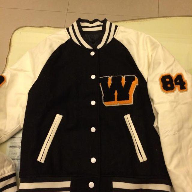 wc熊 棒球外套
