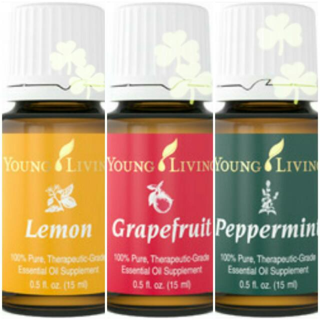 Weight Loss Trio Combo Set Young Living Lemon Grapefruit