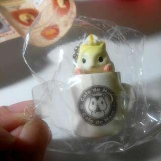 扭蛋 寵物鼠 咖啡杯款