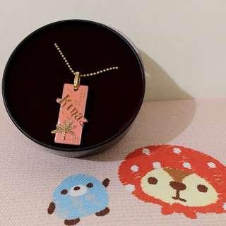 Kinaz粉紅項鍊