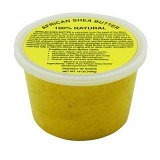 Unrefined Organic African Shea  16 Oz Tub