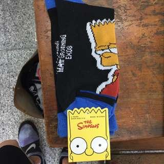 辛普森長筒襪