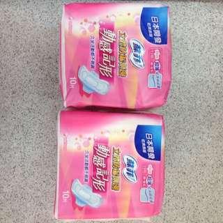 蘇菲日用23cm衛生棉買一送一$70