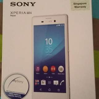Sony Xperia M4 Aqua (Brand New)