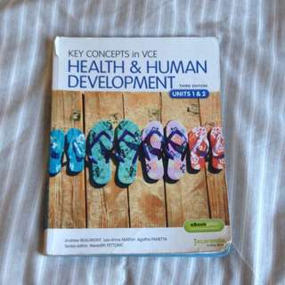 Health And Human Units 1&2 Textbook