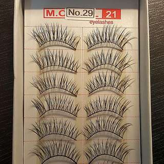 M.O.D.E.L 21 Flase Eyelash Extention BULK 10 Pairs - NO. 29