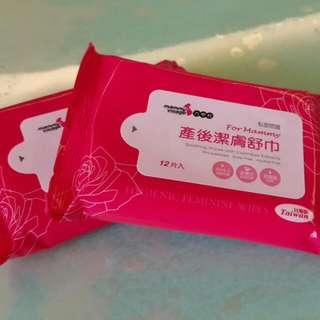 [全新]六甲村產後潔膚舒巾 生理濕紙巾
