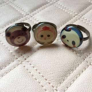 Vintage Animal Rings