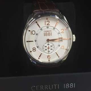 CERRUTI 1881 手錶 義大利 精品 男錶