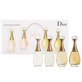 (待匯款)Dior J'adore金色女郎小香禮盒四件組