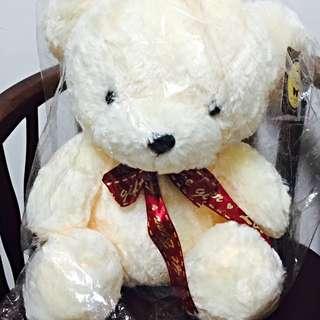 可愛小絨毛熊玩偶