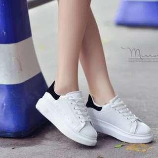 PENDING Black & White Shoe/Sneaker