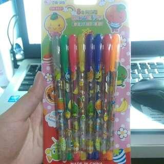 8色亮亮筆