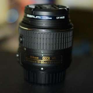 Nikon AFS 18-55mm DX VR2 Kit Lens