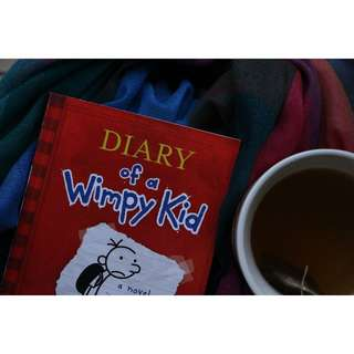 Diary of a Wimpy Kid (Diary of Wimpy Kid #1) (Red) by Jeff Kinney