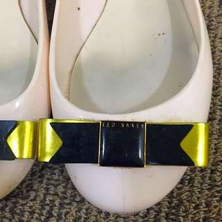 Authentic Ted Baker Jelly Flats Size 36