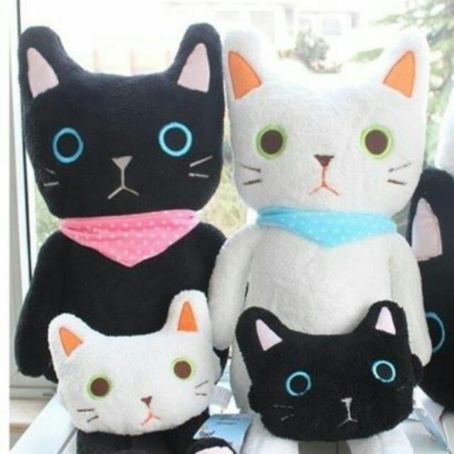 (現貨)日本萌系可愛黑白貓咪