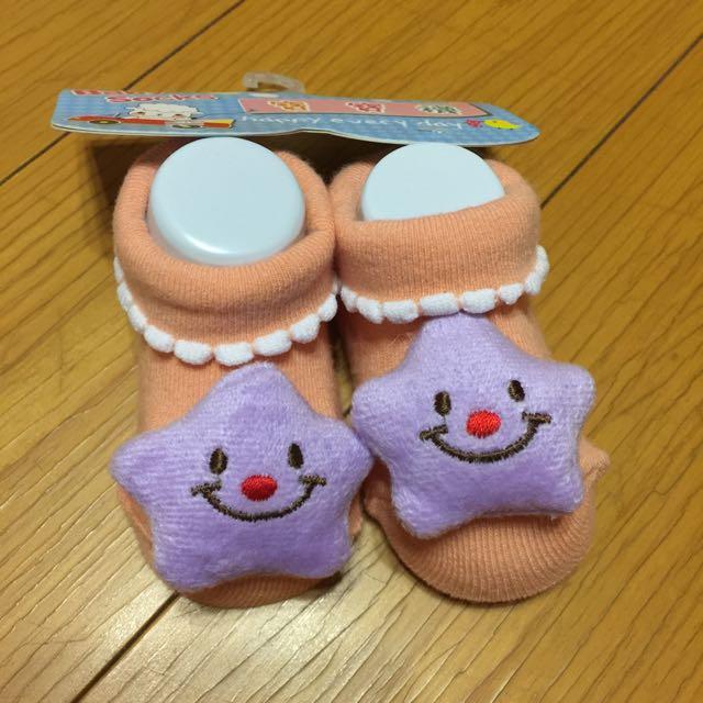立體星星 寶寶襪