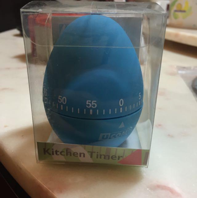 藍色 計時器