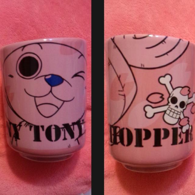 海賊王  一番賞 喬巴 茶杯