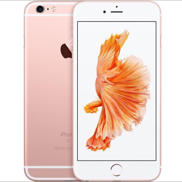 APPLE iPhone 6S (64G) 玫瑰金-全新未拆封