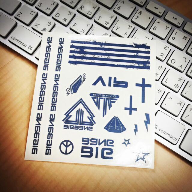 現貨-Bigbang刺青貼紙