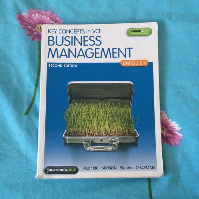 Business Management VCE U3&4