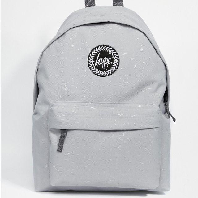 英國代購🎀Hype 灰色白潑墨 後背包