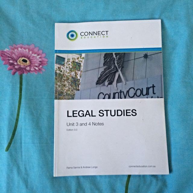Legal Studies NOTES BOOK