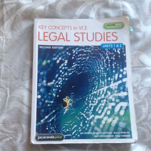 Legal Studies Units 1&2