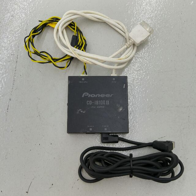 pioneer CD-UB100(Reserved) & CD-IB100 II