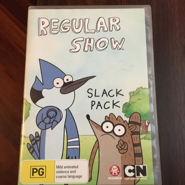 Regular Show Slack Pack
