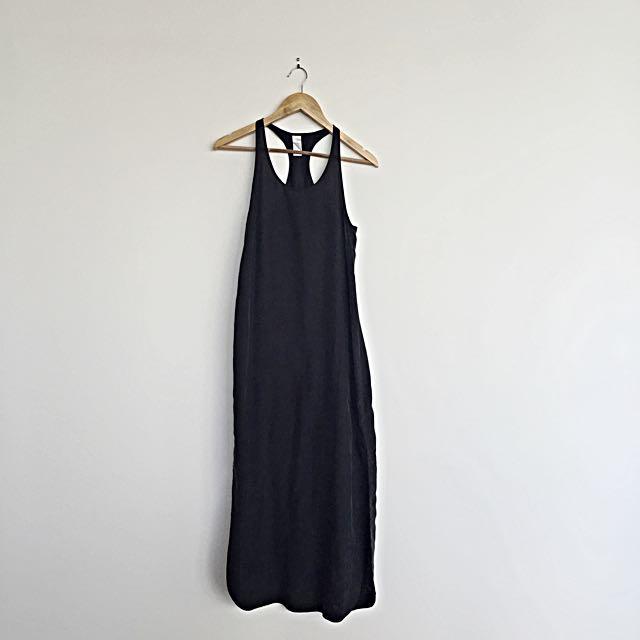 Zimmerman Size 0 Navy Maxi Split Dress